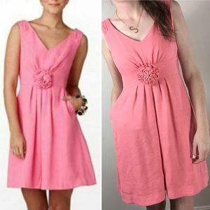 Lily Pulitzer Tweed Pink Coral Flower Dress